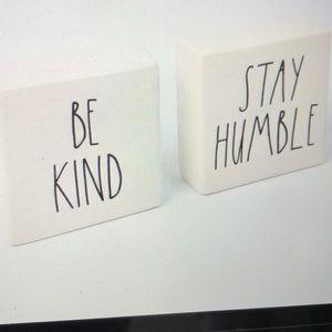 Rae Dunn Be Kind Stay Humble